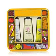 Countryside Florals Hand Therapy Tin Set - 3x25g-0.9oz