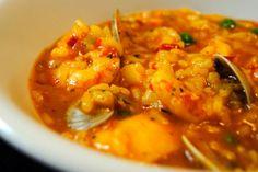 Receta de Arroz de marisco caldoso en http://www.recetasbuenas.com/arroz-de-marisco-caldoso/ Prepara una receta de arroz de marisco caldoso al estilo Portugués. Una receta tradicional lusa que hará las delicias de los amantes del arroz y el marisco. #recetas #Mariscos #arroz