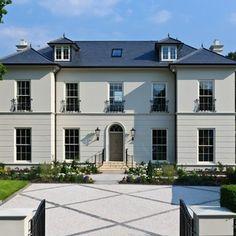 Georgian house - traditional - Exterior - London - The Stone Masonry Company Limited