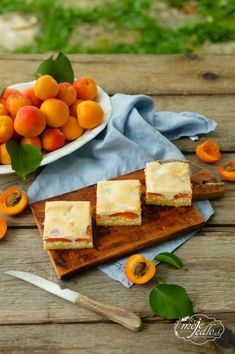 Marhuľový koláč Dairy, Cheese, Blog, Blogging