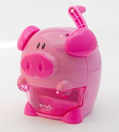 Who knows sharpening pencils can be so much fun? This Little Piggy, Little Pigs, Pig Pen, Piggly Wiggly, Teacup Pigs, Stationary School, Mini Pigs, Cute Piggies, Cute School Supplies