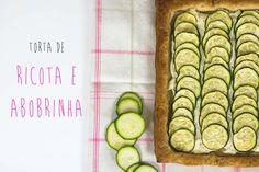 TORTA FOLHEADA DE RICOTA E ABOBRINHA