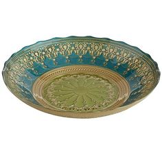 Teal and lime arabesque bowl Teal Color Schemes, Teal Colors, Peacock Living Room, Living Room Decor, Lime Images, Arabesque, Favorite Color, Color Pop