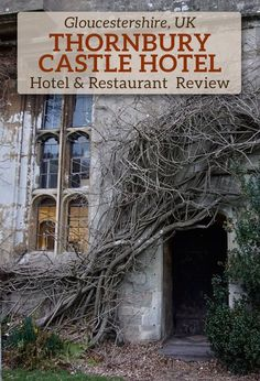 Have you ever stayed in a castle? Thornbury Castle Hotel is the only Tudor castle hotel in England.