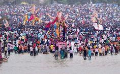 Ganapati Bappa morya! #ganesh #chaturthi #visarjan