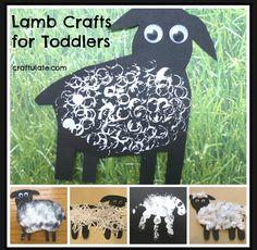 Baa Baa Black Sheep Craft For Toddlers