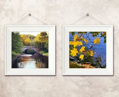 Autumn  Fine Art Photography  Photo print set by BlossomingDream