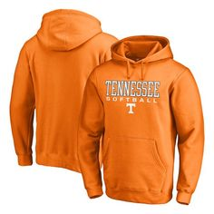 Tennessee Volunteers Fanatics Branded True Sport Softball Pullover Hoodie - Tennessee Orange - $44.99