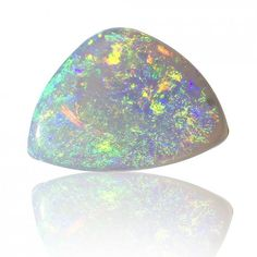 0.82ct Solid Semi Black Australian Opal Coober Pedy, Natural Untreated Loose Opal Piece SKU: 1872A004 by Anderson-Beattie
