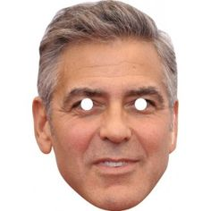 George Clooney Celebrity Mask