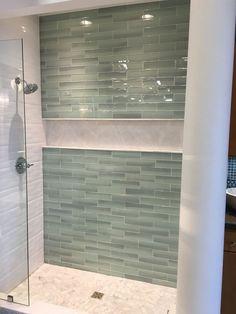 Guest Bathroom Remodel, Bathroom Renovations, Small Shower Remodel, Bathroom Makeovers, Bath Remodel, Bad Inspiration, Bathroom Inspiration, Bathroom Ideas, Shower Ideas