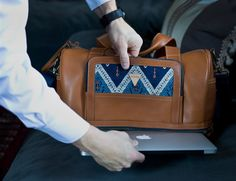 Don't just travel. Travel in style with the ultra-compact and stylish Journey Mini Carry-On Travel Duffel.