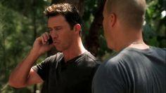 """Burn Notice 5x07 """"Besieged"""" - Michael Westen (Jeffrey Donovan) & Jesse Porter (Coby Bell)"""