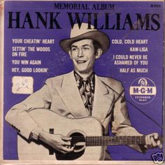 Gallery For > Hank Williams Album Covers
