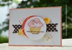 Karos Kreativkram: Kleine (Himbeer-)torte