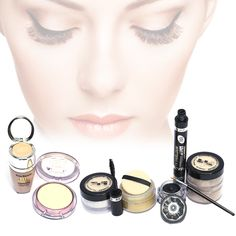Get deal of Cosmetics Pack of 6: 2 Face Touch Two Color Pure Mineral Face Powders + 1 Kiss Beauty BB Cinema Foundation + 1 Kiss Beauty Mat Magique BB Veil + 1 Lasting Shine Eyeliner + 1 BB 2 in 1 Mascara & Eyeliner in just Rs 1,475/- now available in Karachi, Islamabad, Lahore, Rawalpindi, Multan, KPK etc all over Pakistan  #Oshi #Cosmetic #Makeup #Ladies #Amazing #Face #White #Touch