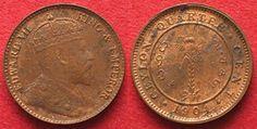 1904 Ceylon CEYLON 1/4 Cent 1904 EDWARD VII. Kupfer PRACHTSTÜCK!!! # 93162 st
