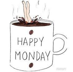 How many cups does it take you, to make it through Monday morning??
