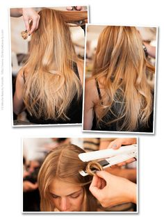 Charlotte Ronson Spring 2013: Soft and Easy Hair with a Unique Way to Curl Your Hair ~ 15 Minute Beauty Fanatic