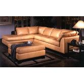 Found it at Wayfair - Espasio Leather Sectional