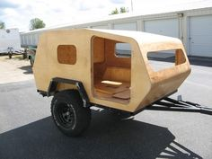 30 Awesome Picture of Simple Wooden Teardrop Trailer Camper. The Airstream trailer is among the best examples. Distinct trailers have various functions. Fully-customizable Classic travel trailers were developed .