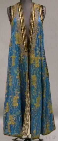 Turkish Silk Wedding Garment, probably early 20th century