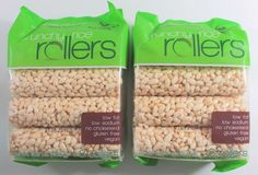 Bamboo Lane Crunchy Rice Rollers (8 Count Bags) 2-Pack BB 1/2018 #BambooLane
