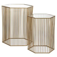 Stixx End Tables - Set of 2   End Tables   Occasional Tables   Living Room   Furniture   Z Gallerie
