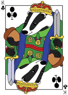 British Animal Playing Cards - Hugo Yoshikawa - Illustration