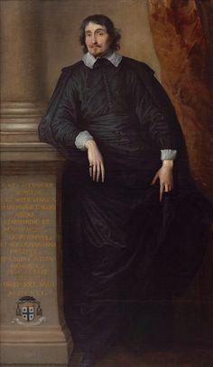 Anthony van Dyck, Portrait of Cesare Allessandro Scaglia di Veerua, c. 1634, Royal Museum of Fine Arts Antwerp © KMSKA/Lukas – Art in Flanders VZW, foto: d/arch.