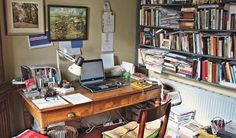 """Sebastian Barry -- """"The cup was given to my grandfather in the 20s for his painting. His own vanished studio will always be a shadow room for anywhere I work (his stiffened brushes and famished paints are in one of the boxes)."""""""
