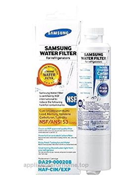 Samsung DA29-00020B Refrigerator Water Filter, 1 Pack  Check It Out Now     $39.99    The Samsung HAF-CIN Refrigerator Water Filter uses a powerful concentrated carbon filter. This filter eliminates over ..  http://www.appliancesforhome.top/2017/04/17/samsung-da29-00020b-refrigerator-water-filter-1-pack-2/