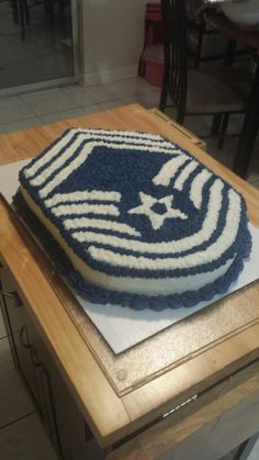Air Force Chief Cake