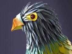 Hermès – Leather Parrot