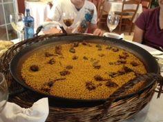 Arroz de Conejo Restaurante Candela (alicante)