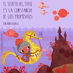 Éxito = Constancia  Ilustración: Ana Bermejo Santos
