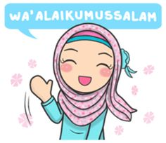 Flower Hijab : Daily Talk by Imran Ramadhan cartoon muslim Flower Hijab : Daily Talk by Imran Ramadhan Love Cartoon Couple, Cute Cartoon Pictures, Cute Cartoon Girl, Cute Love Cartoons, Muslim Greeting, Cute Drawings Of Love, Anime Muslim, Muslim Hijab, My Little Pony Collection