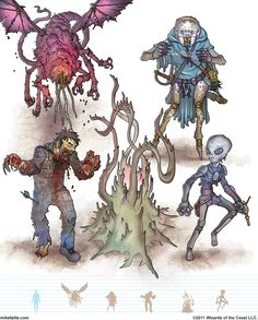 Gamma World Monsters 15 by MikeFaille on DeviantArt