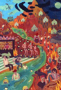 Nicholas Stevenson    'an imaginary festival'    http://nicholasstevenson.tumblr.com/