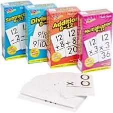 Early Bird Special: Trend Enterprises Math Operations Flash Cards Pack - Set of 4 Addition Flashcards, Math Flash Cards, Math Words, Math Word Problems, Basic Math, Math Facts, Teaching Math, Math Activities, Kids Learning