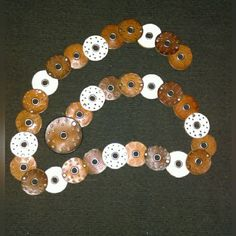 """Fun BOHO belt This belt is a MUST HAVE accessory for any closet, it measures 46 1/2"""" from buckle to end but can be hooked into any of the circles while letting the rest hang. Very original one of a kind. Each circle is made of leather in either white, medium brown, or dark brown. EUC Accessories Belts"""