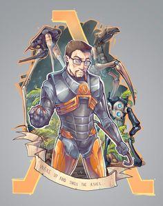 Fantastic Half Life Artworks