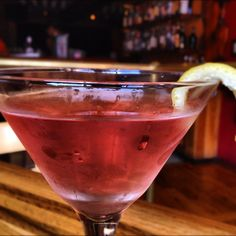 The best cosmo in town... Casa Nueva! Ask for Josh. He makes the best!