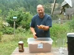 Video: How to Make Bokashi - fermented wheat bran you add to your compost to keep it from smelling & to speed up the composting process.