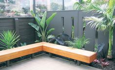 Image detail for -Courtyards - Panelrok - Transform your home Outdoor Living Areas, Outdoor Spaces, Architecture Courtyard, Garden Fencing, Small Gardens, Backyard Landscaping, Garden Inspiration, The Great Outdoors, Patio