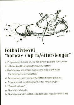 Kunstnerkort Humorkort Kjell Aukrust. Fotballstøvel Norway Cup. Utg Aukrustsenteret. Norway, Humor, Drawings, Art, Kunst, Pictures, Art Background, Humour, Funny Photos