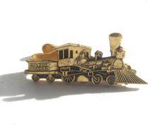 C & N W Pioneer Tie Clip  1848 Steam Locomotive Train cash clip #cnw #pioneer #BetterWythAge #steamlocomotive #train #rarilroad #tieclip #menswear #antiquetrain #chicago