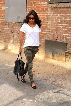 Life, Love and the Pursuit of Shoes: Camo in the City