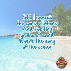 Oh, Monday. Are you dreaming of the beach? Finish the Lyrics and let Jimmy Buffett help you escape. #MargaritaMonday #JimmyBuffet