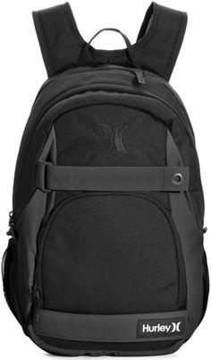 8c2a33053ac8 Hurley - Black Honor Roll Solid Backpack for Men - Lyst. Men s BackpackBlack  BackpackHurleySkateboard BackpackStylishBagsLongboardingCool Backpacks Fashion